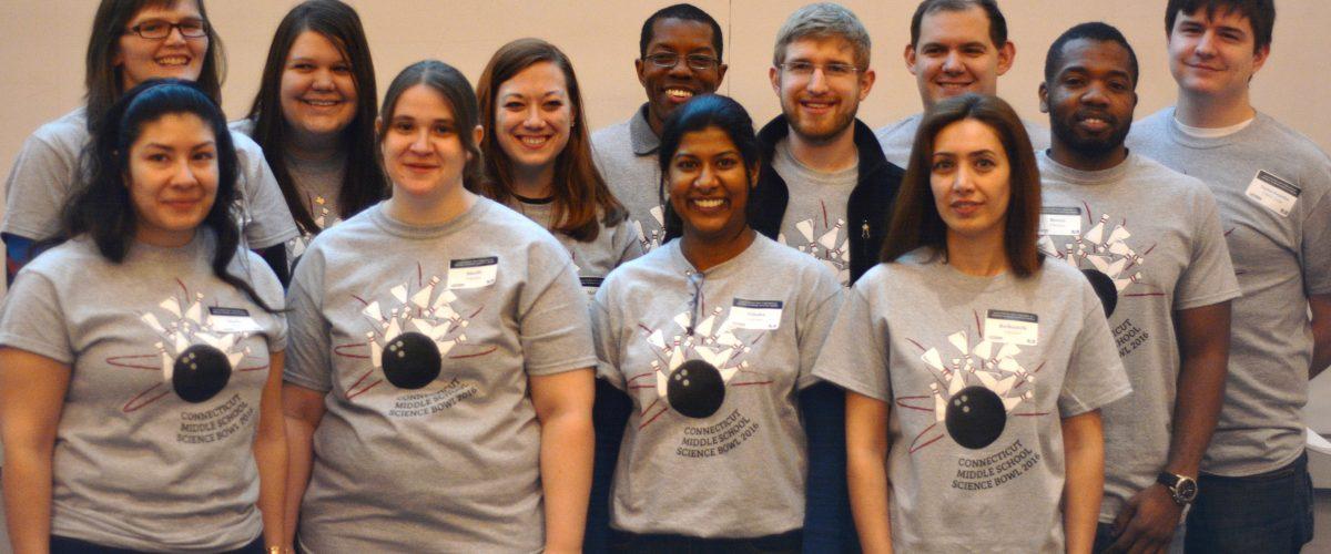 Science Bowl volunteers 2016